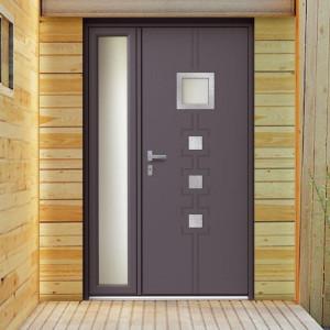 Portes d'entrée PVC ou Alu...