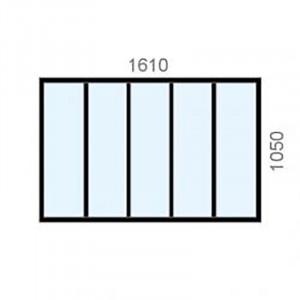 Verrière standard H1050, 5...