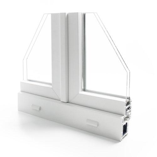fenetre pvc gamme efficience - design extérieur