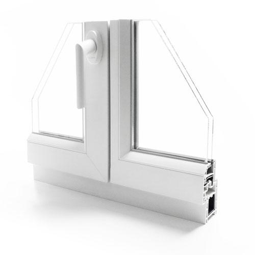 fenetre pvc gamme efficience - design intérieur
