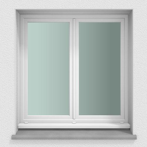 fenetre pvc gamme efficience - Fenêtre 2 vantaux - extérieur