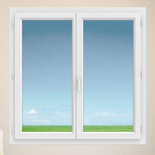 fenetre pvc gamme efficience - Fenêtre 2 vantaux - intérieur