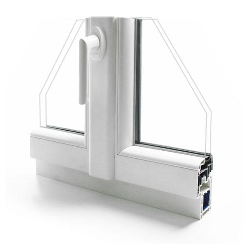 fenetre pvc gamme technic+ - design intérieur