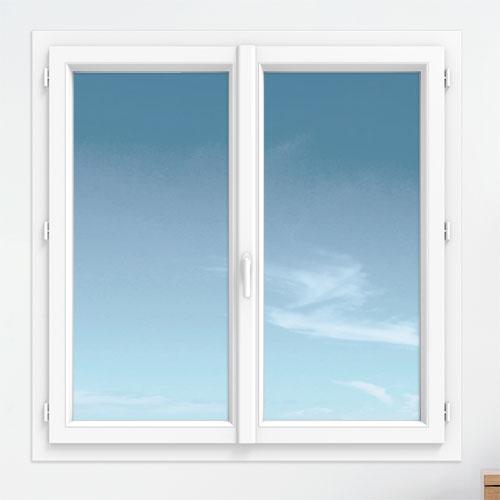 fenetre pvc gamme technic+ - Fenêtre 2 vantaux - intérieur